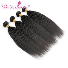 <b>Brazilian Hair</b> Kinky <b>Straight Hair Brazilian Hair Weave</b> Bundles 1/3 ...