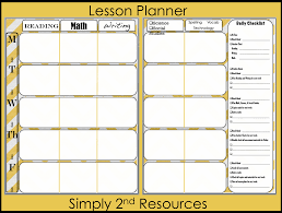 printable lesson plan template lesson plan template for word lesson plan template word