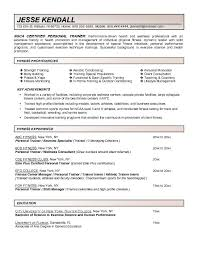 example of a job resume   education and interests  example of a    resume personal statement examples for fitness proficiencies with key experience and education  example of