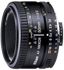 Nikon AF FX NIKKOR 50mm f/1.8D Lens for Nikon ... - Amazon.com