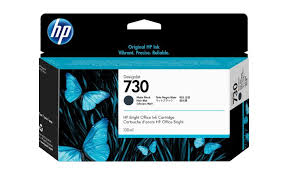 <b>HP 730</b> - <b>matte</b> black - original - <b>DesignJet</b> - ink cartridge - P2V65A ...