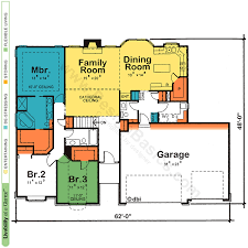One Story House Plans   Open Floor Plans   Design BasicsOne Story House Plans