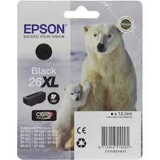 Оригинальный <b>картридж Epson</b> T2621 (экономичный) Черный ...