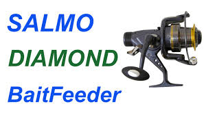 Обзор <b>катушки Salmo</b> Diamond BaitFeeder 6 - YouTube
