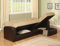 bed sofa with storage lakeland microfiber sectional sofa couch with storage cado modern furniture modern sofa bed