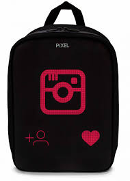 <b>Рюкзак с LED-дисплеем PIXEL</b> PLUS (Черный) — купить в ...