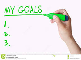 goals on whiteboard displays targets aims and objectives stock hand writing my goals on whiteboard stock images