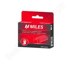 <b>Скобы Miles тип 53</b> N3-8mm - цена, отзывы, характеристики ...