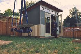 studio shed modern prefab backyard studios office sheds custom kits build garden office kit