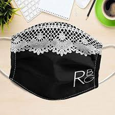 RBG Collar Mask 100% Cotton Anti-dust Mouth Face ... - Amazon.com