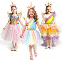 costume of <b>unicorn</b> for <b>girl</b>