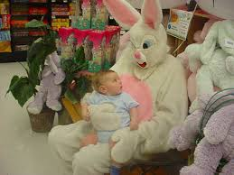 Image result for creepy easter bunny
