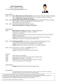 examples of good resumes that get jobs  resume for first job     Resume Maker  Create professional resumes online for free Sample