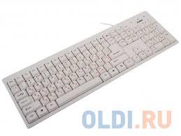 <b>Клавиатура SVEN Standard 303</b> USB White — купить по лучшей ...