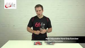 <b>Adjustable Hand Grip</b> Exerciser - 66fit - YouTube
