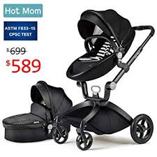 Baby Stroller 2018, Hot Mom Baby Carriage with ... - Amazon.com