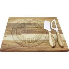 <b>Набор для сыра</b> Regent inox Linea Formaggio <b>2</b> ножа с доской в ...