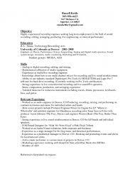 resume templates   audio engineer resume sample for music    audio engineer resume production technician resume samples