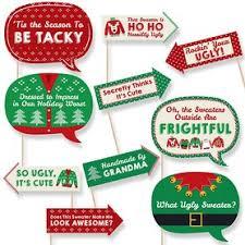 Ugly <b>Sweater</b> - Holiday Party <b>Theme</b> | BigDotOfHappiness.com