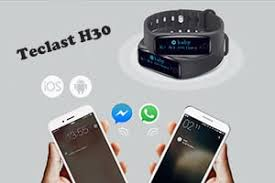 Teclast H30 <b>smart wristband</b> & phone connection guide | GearBest ...