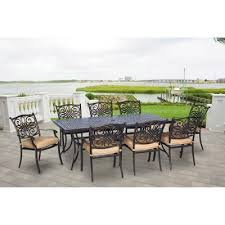 <b>9</b>-<b>Piece</b> - <b>Patio Dining</b> Furniture - Patio Furniture - The Home Depot
