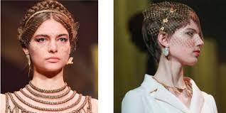 Двойные стрелки и плетения: бьюти-образы <b>Christian Dior</b> Haute ...