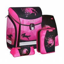 Рюкзак <b>HERLITZ MIDI</b> NEW PLUS Horse с наполнением, розовый ...