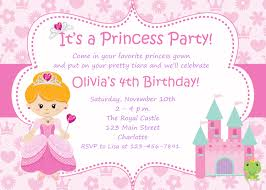 princess party invitations com princess party invitations a different bewitching decoration style for your lovable invitatios card 4