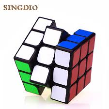 Original puzzle speed magic <b>cubes</b> 3x3x3 pvc sticker <b>professional</b> ...