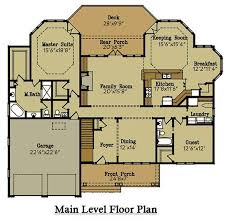 Brick Lake House Plan   an Open Living Floor PlanFloor Plans  Brick Lake House
