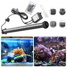 ac110-120v/220-240v rgb <b>32cm</b> smd5050 ip68 <b>fish tank</b> ...