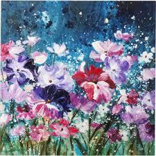 <b>Картина Flower Garden</b> 100х100см. 60776 в Киеве купить kare ...