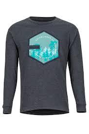 Men's <b>Deep</b> Forest <b>Long</b>-<b>Sleeve T</b>-<b>Shirt</b>