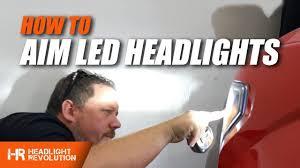 How To Properly Aim LED Headlights | Headlight Revolution ...