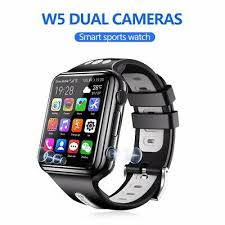 W5 4G Kids Smart phone Watch waterproof <b>GPS</b>+WiFi <b>position</b> dual ...