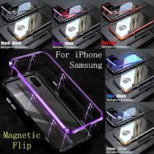 <b>New Upgrade</b> Fashion <b>Magnetic</b> Adsorption Flip Phone <b>Case</b> for ...