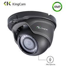 Online Shop KingCam Metal Anti-vandal Laser IR LED <b>48V POE</b> IP ...