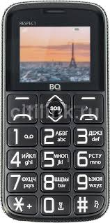 Купить Мобильный <b>телефон BQ</b> Respect <b>1851</b>, черный в ...