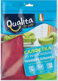 Qualita <b>Салфетка из микрофибры</b>, <b>универсальная</b> — купить в ...