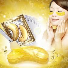 <b>10pcs</b>=5packs <b>Gold Crystal</b> Collagen Eye Mask Eye Patches Eye ...