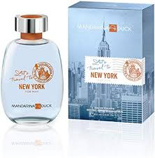 <b>Mandarina Duck Let's Travel</b> To New York Eau De Toilette Spray ...