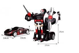 2337P <b>Радиоуправляемый робот</b>-<b>трансформер</b> MZ Porsche 911 ...