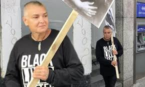 <b>Sinead O'Connor</b> dons a Black Lives Matter shirt as she films new ...