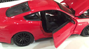 <b>1:24 Maisto 2015 Ford</b> Mustang GT <b>Diecast</b> Video Review by ...