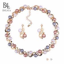 <b>DiLiCa Elegant Women's</b> Statement Earrings Flower Earrings ...