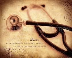 Doctor Gift Doctor Art Doctor Keepsake by LifeVerseDesign