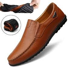 Genuine Leather <b>Men</b> Casual <b>Shoes Luxury Brand</b> 2019 <b>Mens</b> ...