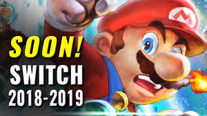 Top 25 Upcoming Nintendo Switch Games 2018 & 2019 - YouTube
