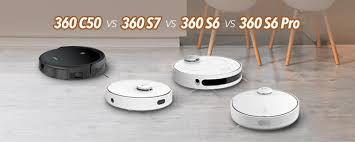 360 C50 vs <b>360 S6 Pro</b> vs 360 S6 vs 360 S7 Vacuum Cleaner