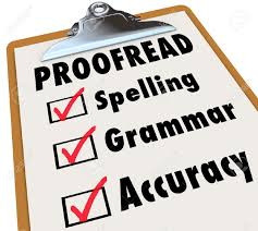 editing and proofreading checklist  editing and proofreading checklist